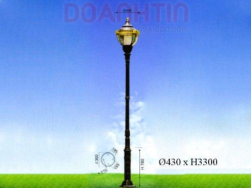 Đèn Trụ Sân Vườn Đẹp Kiểu Dáng Cuốn Hút - Densaigon.com