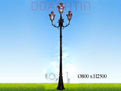 Đèn Trụ Sân Vườn Đẹp Kiểu Dáng Hài Hòa - Densaigon.com