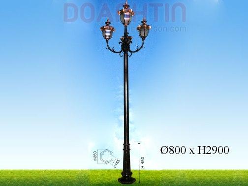 Đèn Trụ Sân Vườn Đẹp Kiểu Dáng Sang Trọng - Densaigon.com