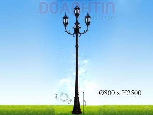 Đèn Trụ Công Viên Đẹp Kiểu Dáng Tinh Tế - Densaigon.com