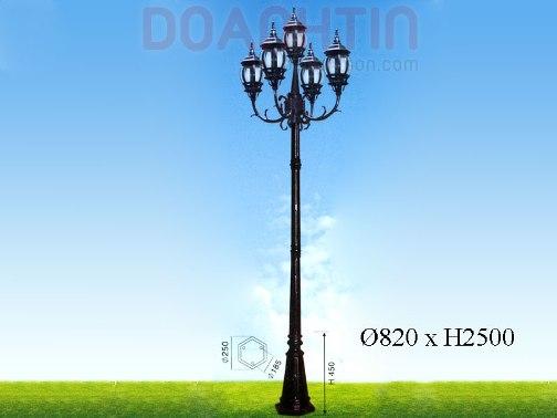Đèn Trụ Công Viên Đẹp Kiểu Dáng Lôi Cuốn - Densaigon.com