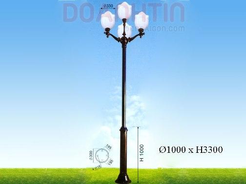 Đèn Trụ Khuôn Viên Đẹp Kiểu Dáng Trang Nhã - Densaigon.com