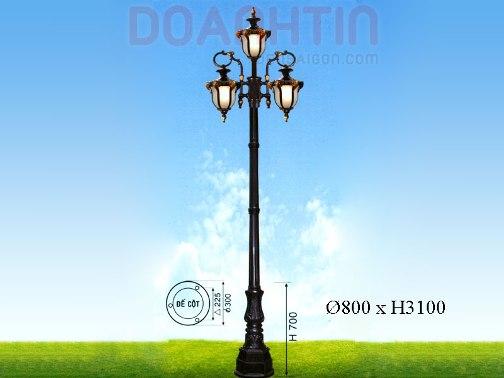Đèn Trụ Cổ Điển Kiểu Dáng Sang Trọng - Densaigon.com