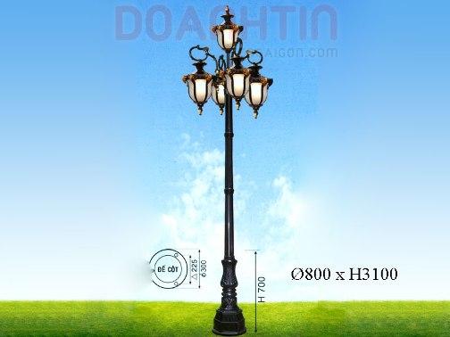 Đèn Trụ Cổ Điển Kiểu Dáng Nổi Bật - Densaigon.com
