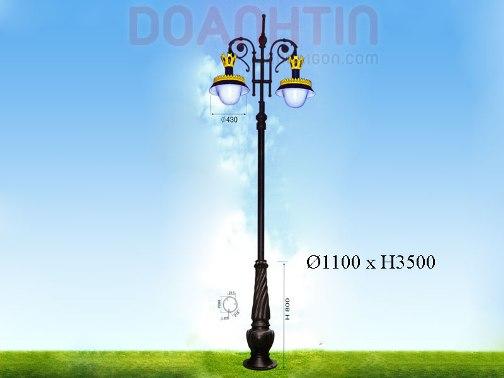 Đèn Trụ Đẹp Kiểu Dáng Trang Nhã - Densaigon.com