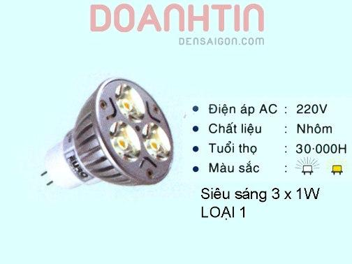 Bóng Chén LED Trang Trí Văn Phòng - Densaigon.com