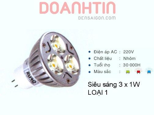 Bóng Chén LED Trang Trí Nội Thất - Densaigon.com