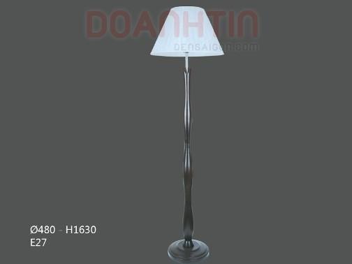 Đèn Sàn Chụp Dù Trắng Ánh Sáng Dịu - Densaigon.com