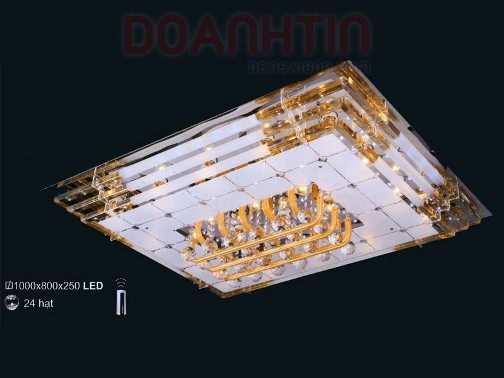 Đèn Chùm LED Chữ Nhật Kiểu Dáng Ấn Tượng - Densaigon.com