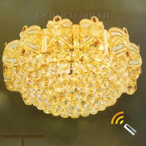 Đèn Chùm LED Pha Lê Treo Phòng Ăn - Densaigon.com
