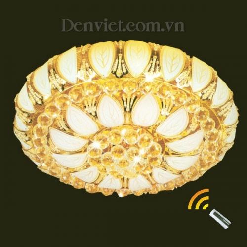 Đèn Chùm LED Pha Lê Treo Phòng Khách Đẹp Giá Rẻ - Densaigon.com