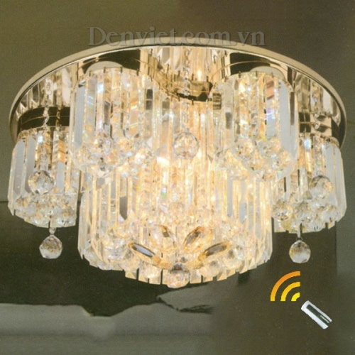 Đèn Chùm LED Kiểu Dáng Sang Trọng Treo Phòng Ngủ - Densaigon.com