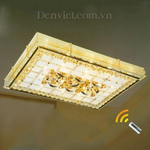 Đèn Chùm LED Chữ Nhật Giá Rẻ Treo Phòng Khách - Densaigon.com