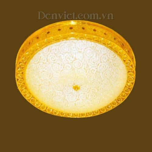 Đèn Chùm Pha Lê Áp Trần Trang Trí Phòng Ăn - Densaigon.com