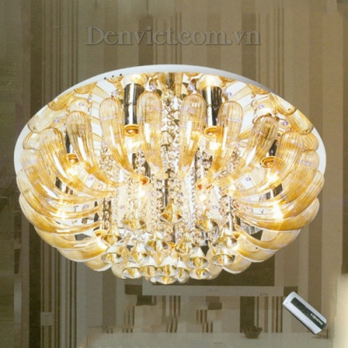 Đèn Chùm LED Kiểu Dáng Sang Trọng Treo Phòng Ăn - Densaigon.com