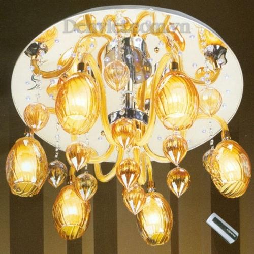 Đèn Chùm LED Treo Phòng Khách Thiết Kế Độc Đáo - Densaigon.com