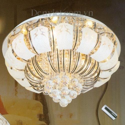 Đèn Chùm LED Tròn Đẹp Giá Rẻ Phong Cách Hiện Đại - Densaigon.com