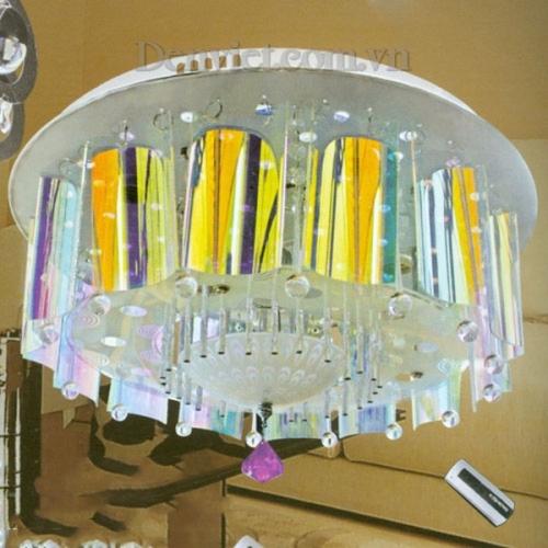Đèn Chùm LED Tròn Thiết Kế Ấn Tượng - Densaigon.com