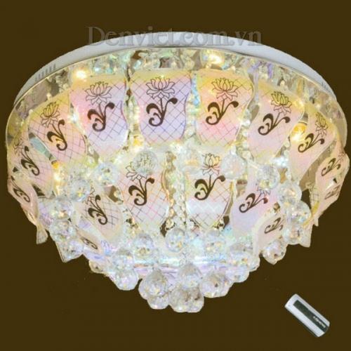 Đèn Chùm LED Tròn Trang Trí Phòng Ăn Đẹp Lung Linh - Densaigon.com