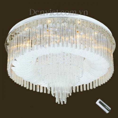 Đèn Chùm LED Tròn Màu Trắng Tinh Khôi - Densaigon.com