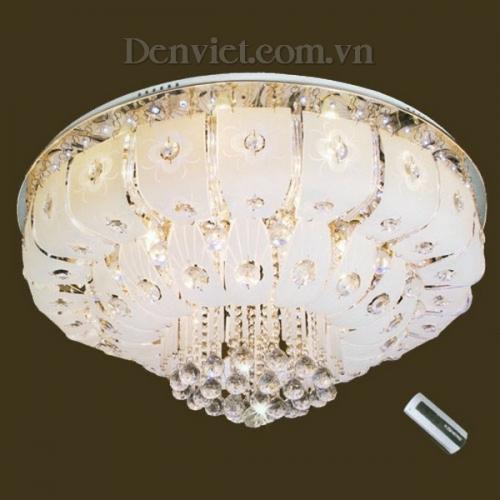 Đèn Chùm LED Thiết Kế Đẹp Treo Phòng Khách - Densaigon.com
