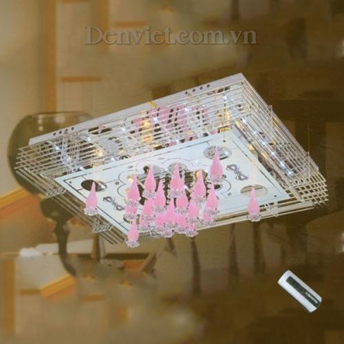 Đèn Chùm LED Chữ Nhật Trang Trí Phòng Ngủ Đẹp - Densaigon.com