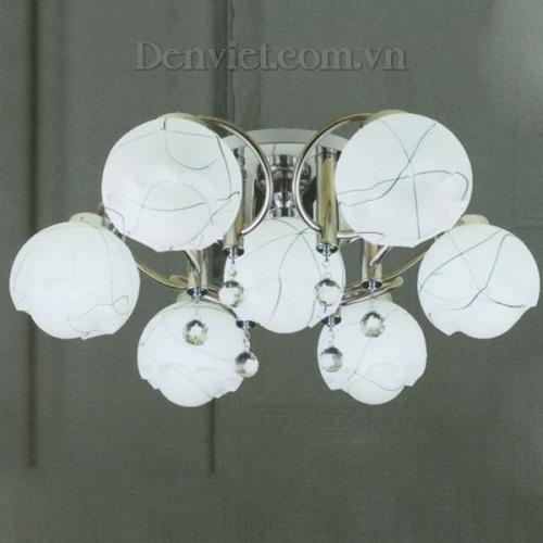 Đèn Chùm Ý Màu Trắng Phong Cách Quí Phái - Densaigon.com