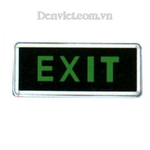 Đèn Exit - Lối Thoát Hiểm Màu Xanh Lá Cây