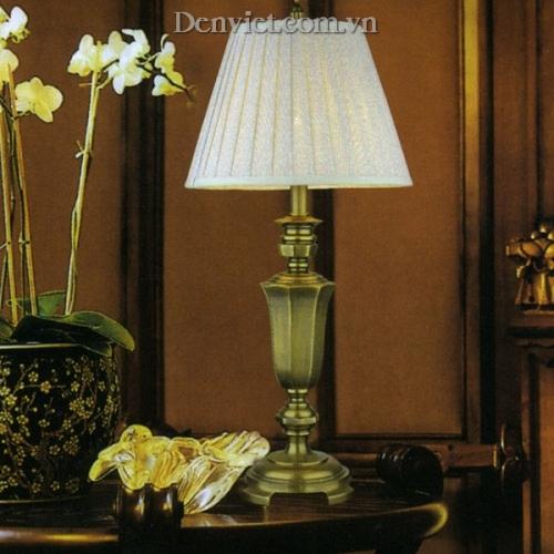 Đèn Để Bàn Đồng Chao Vải Đẹp - Densaigon.com