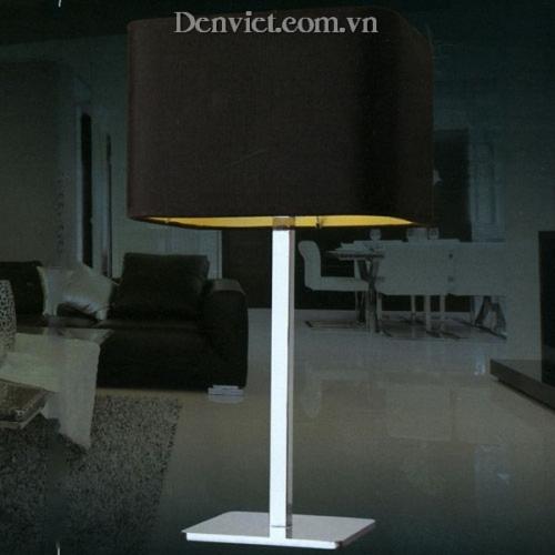 Đèn Bàn Inox Xi Trắng Đẹp Giá Rẻ - Densaigon.com