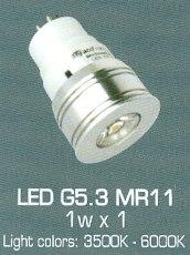 Bóng Đèn G5.3 LED Bóng Vòng 15w COB