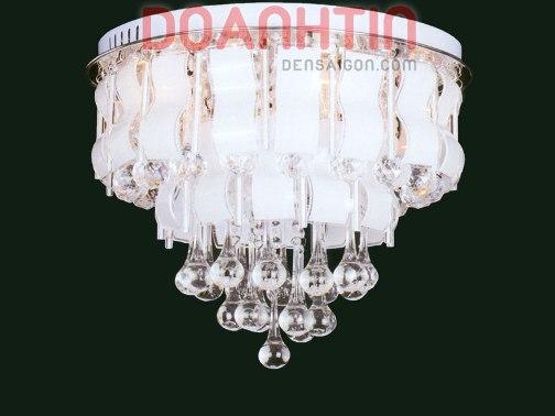 Đèn Chùm LED Tròn Thiết Kế Đẹp Dạng Tầng - Densaigon.com