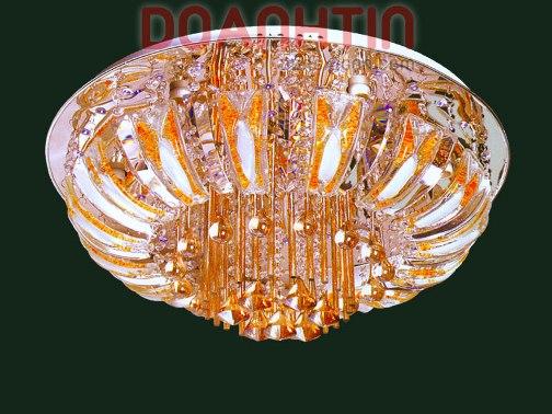 Đèn Chùm LED Tròn Thả Pha Lê Kiểu Dáng Đẹp - Densaigon.com