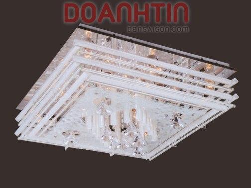 Đèn Chùm LED Vuông Đẹp Trang Trí Căn Hộ - Densaigon.com