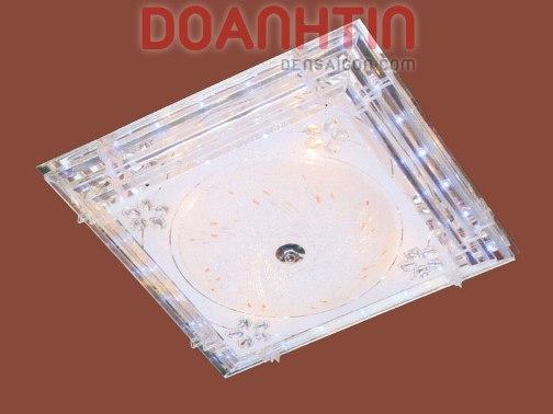 Đèn Chùm LED Vuông Treo Phòng Khách Kiểu Áp Trần - Densaigon.com