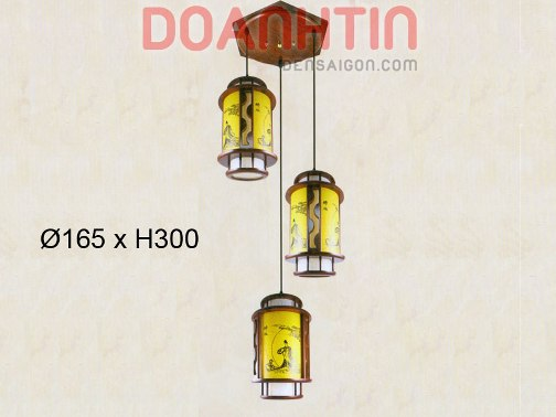 Đèn Thả Da Dê Mẫu Mã Đẹp - Densaigon.com