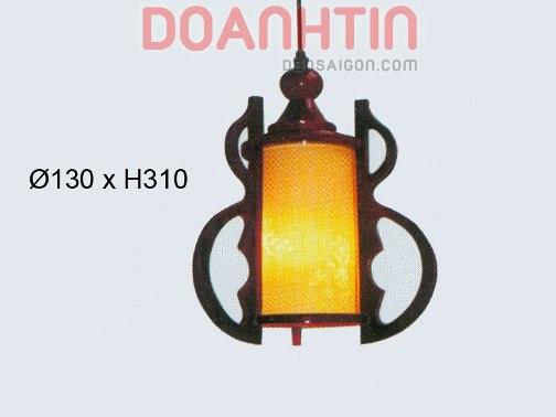 Đèn Thả Da Dê Kiểu Dáng Độc Đáo - Densaigon.com