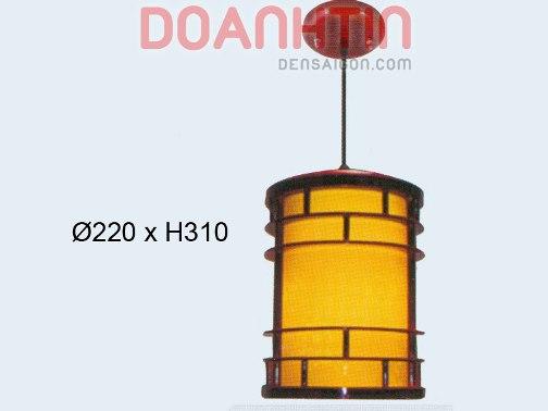 Đèn Thả Da Dê Kiểu Dáng Nhỏ Gọn - Densaigon.com