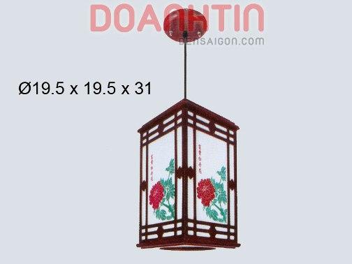 Đèn Thả Da Dê Trang Trí Căn Hộ - Densaigon.com