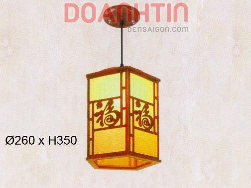 Đèn Thả Da Dê Thiết Kế Cổ Điển - Densaigon.com