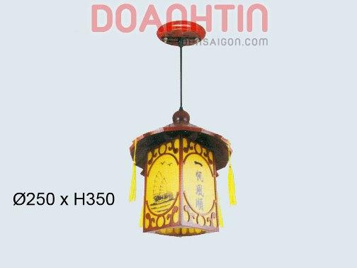 Đèn Thả Da Dê Thiết Kế Tinh Xảo - Densaigon.com
