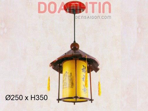 Đèn Thả Da Dê Thiết Kế Đơn Giản - Densaigon.com