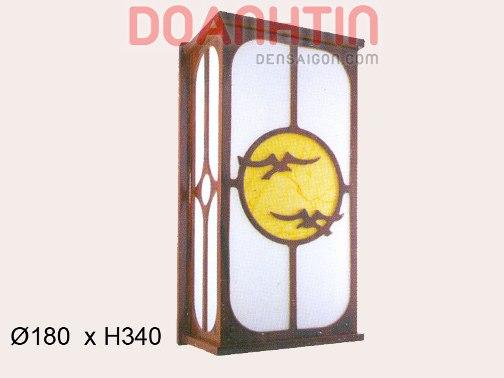 Đèn Tường Da Dê Đẹp Lung Linh - Densaigon.com