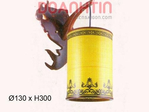 Đèn Tường Da Dê Trang Trí Phòng Ăn - Densaigon.com