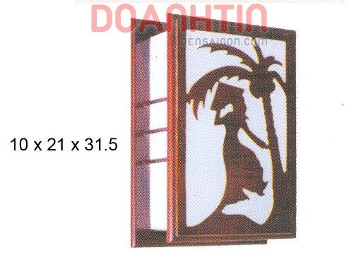 Đèn Tường Da Dê Thiết Kế Gọn - Densaigon.com