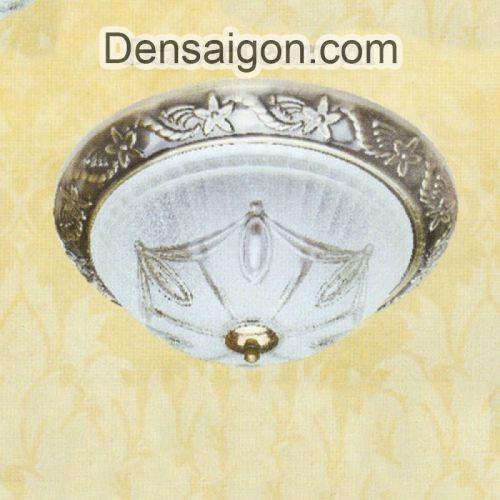 Đèn Áp Trần Cổ Điển Đế Sắt Thiết Kế Đẹp - Densaigon.com