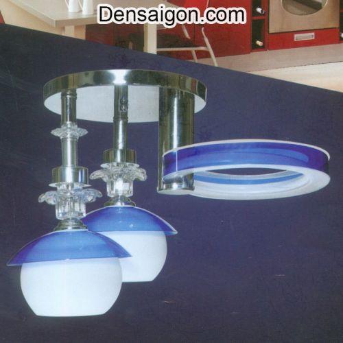 Đèn Áp Trần LED Hiện Đại Màu Xanh - Densaigon.com