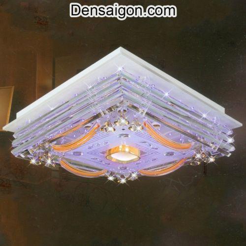 Đèn Áp Trần LED Sắc Tím Lãng Mạn - Densaigon.com