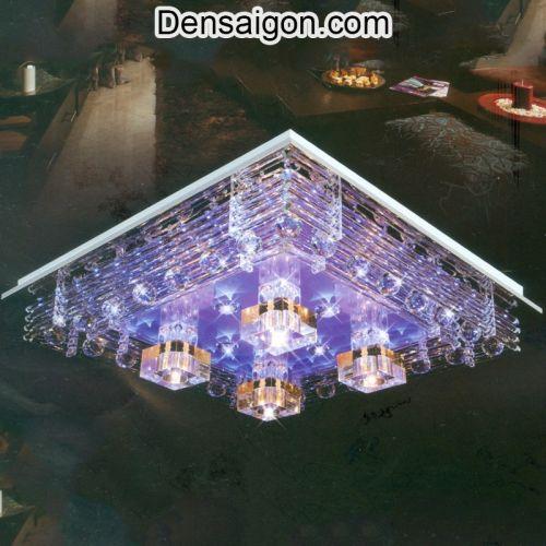 Đèn Áp Trần LED Trang Trí Màu Tím Lãng Mạn - Densaigon.com
