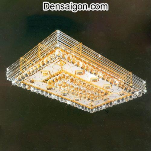 Đèn Áp Trần Pha Lê LED Đẹp - Densaigon.com